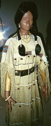Cheyenne woman in dress